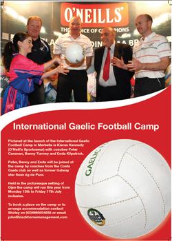 International Gaelic Football Camp