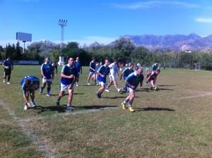 Gaelic Football Marbella team