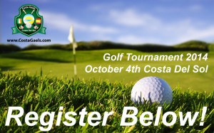 Register for Golf Tournament 2014 GAA