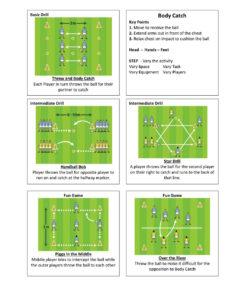 Gaelic Football Body Catch