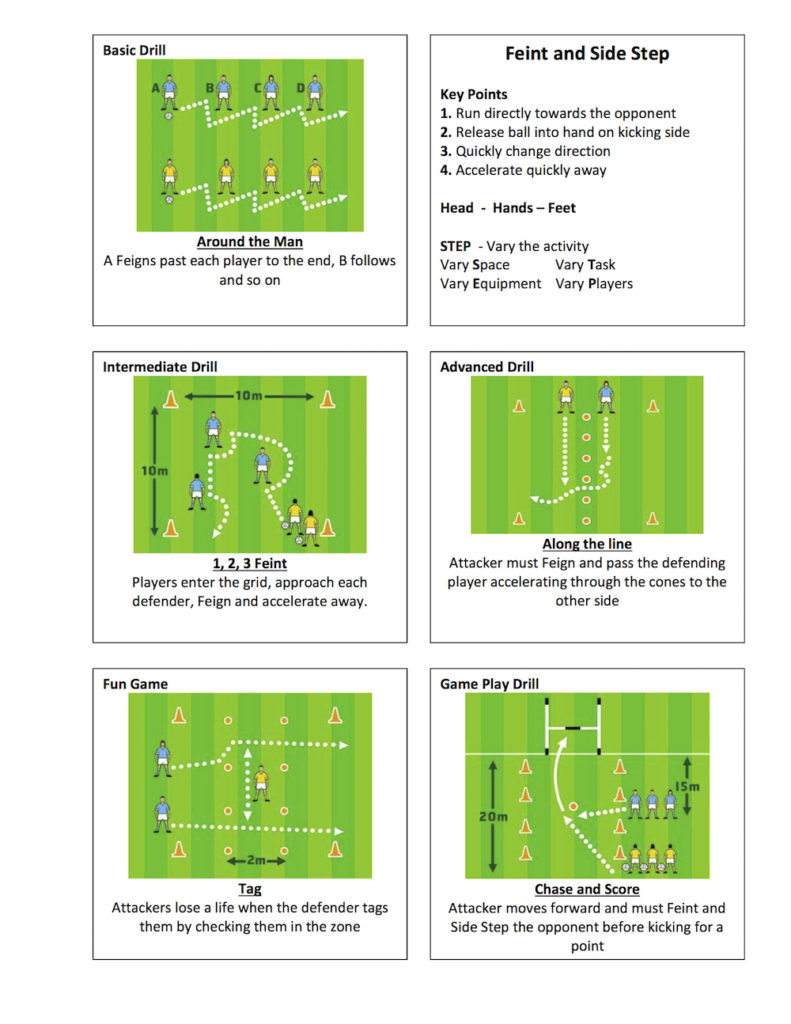 Gaelic-Football-Feint-Side-Step