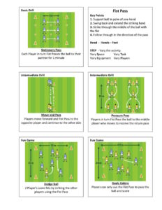 Gaelic Football Fist Pass