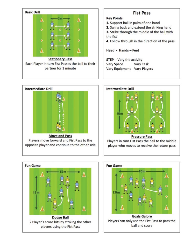 Gaelic-Football-Fist-Pass