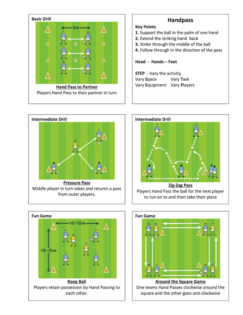 Gaelic-Football-Handpass