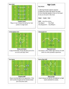 Gaelic Football High Catch