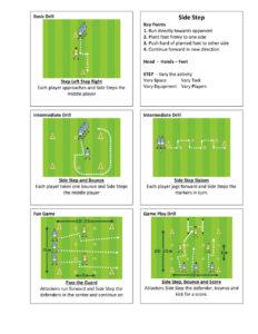 Gaelic Football Side Step
