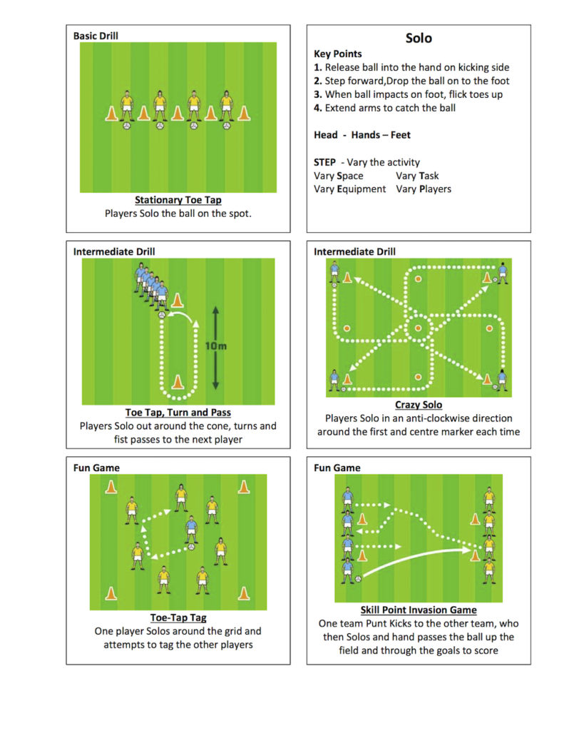 Gaelic-Football-Solo