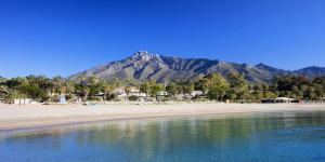 The beach on the costa del sol