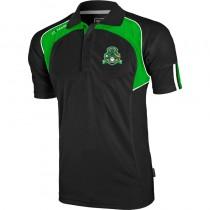 costa gaels apex polo black emerald white