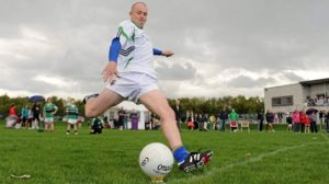 gaelic football 45 yard kick