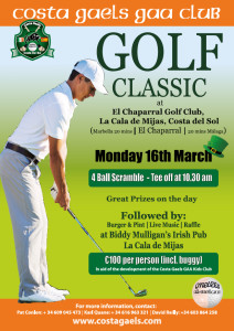 golf classic march 2015 Flyer