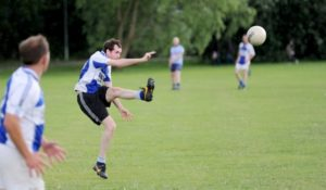 hook kick gaelic football