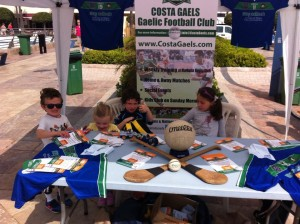 Kids at Jake Costa Gaels - St. Patricks Day Marbella 2016
